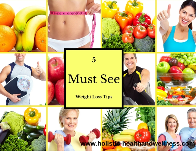 5 Must See Weight Loss Tips