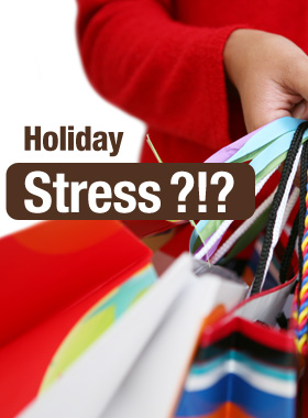 Don't let the holidays stress you out